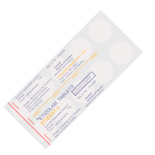 Buy Etizest 1mg Online with Express Shipping & Guaranteed Delivery!